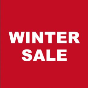WINTER SALE スタート!